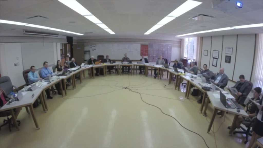 May 1st 2018 Board Meeting