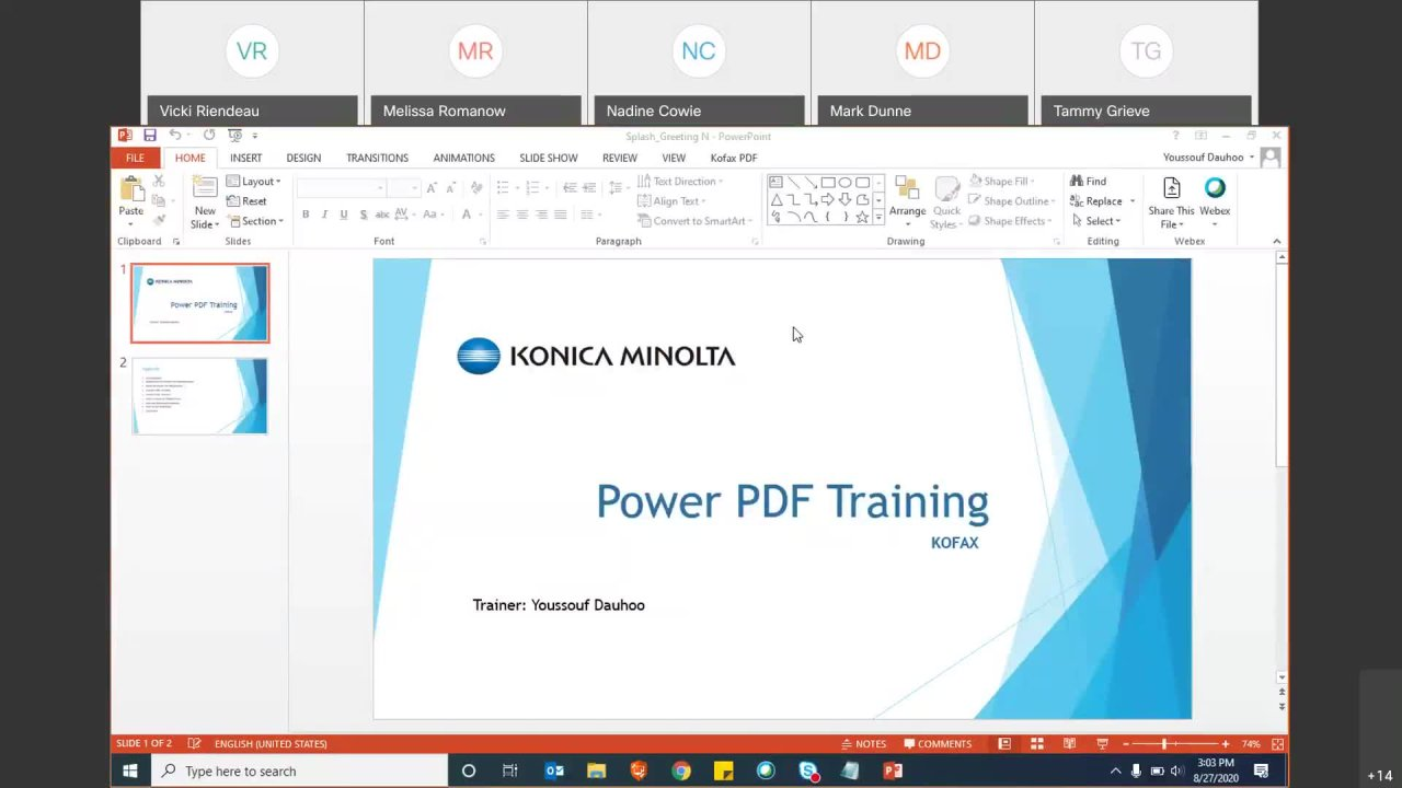 Power PDF Training