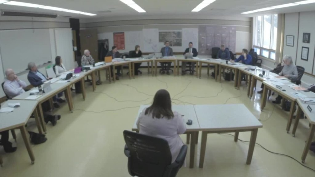 November 26th 2019 Special Board Meeting