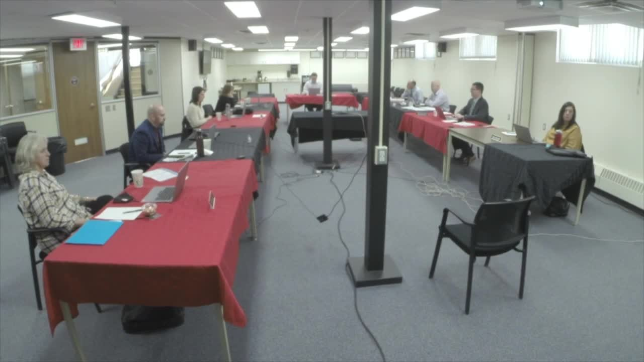 November 24th 2020 Special Board Meeting